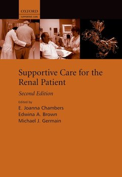 Couverture de l'ouvrage Supportive care for the renal patient