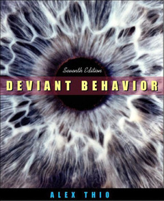 Couverture de l'ouvrage Deviant behavior, 7th ed.
