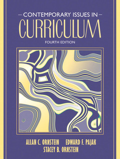 Couverture de l'ouvrage Contemporary issues in curriculum (4th ed )