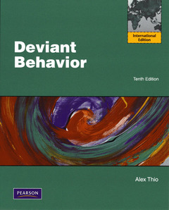 Couverture de l'ouvrage Deviant behavior