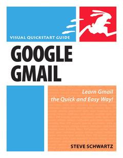 Couverture de l'ouvrage Google gmail, visual quickstart guide