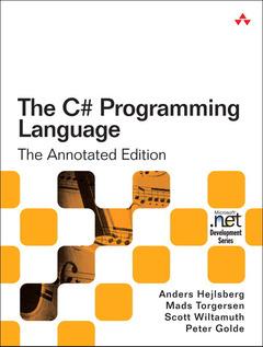 Couverture de l'ouvrage C# Programming Language