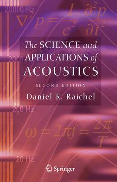 Couverture de l'ouvrage The science & applications of acoustics,