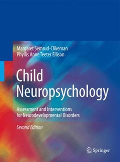 Couverture de l'ouvrage Child neuropsychology (2nd Ed)