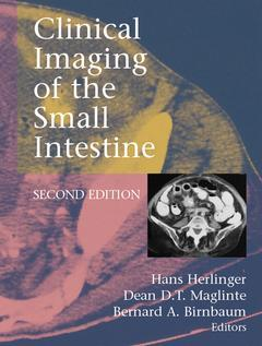 Couverture de l'ouvrage Clinical imaging of the small intestine 2° Ed.