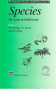 Couverture de l'ouvrage Species : units of biodiversity