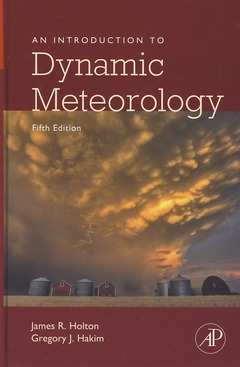 Cover of the book An Introduction to Dynamic Meteorology