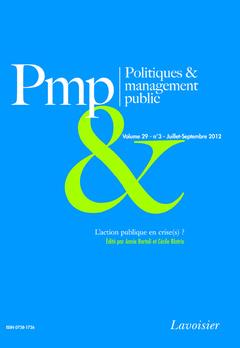 Couverture de l'ouvrage L'action publique en crise(s) ?