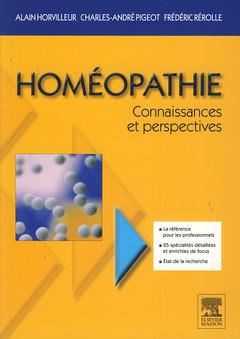 Couverture de l'ouvrage Homéopathie