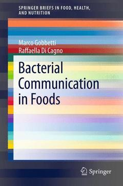 Couverture de l'ouvrage Bacterial Communication in Foods