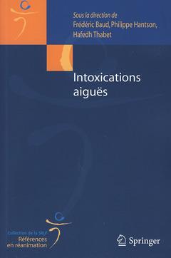 Couverture de l'ouvrage Intoxications aiguës