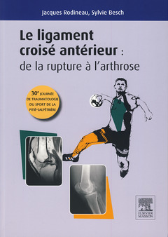 Couverture de l'ouvrage Le ligament croisé antérieur
