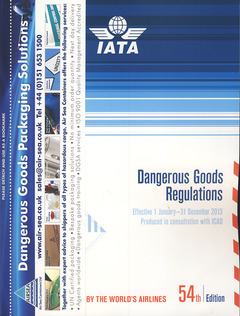 Cover of the book Dangerous goods regulations (IATA)