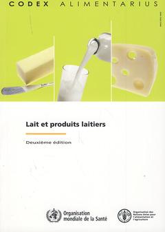 Couverture de l'ouvrage Lait et produits laitiers