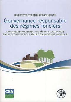 Couverture de l'ouvrage Directives volontaires pour une gouvernance responsable des régimes fonciers