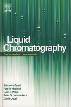 Couverture de l'ouvrage Liquid Chromatography