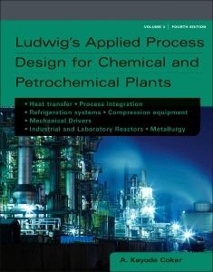 Couverture de l'ouvrage Ludwig's Applied Process Design for Chemical and Petrochemical Plants
