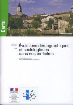 Couverture de l'ouvrage Evolutions démographiques et sociologiques dans nos territoires