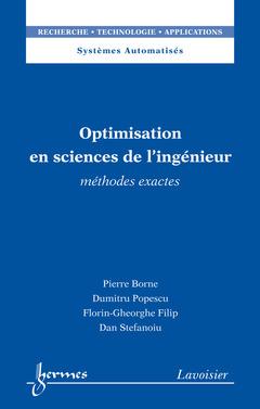 Couverture de l'ouvrage Optimisation en sciences de l'ingénieur