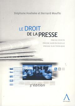 Couverture de l'ouvrage Droit de la presse
