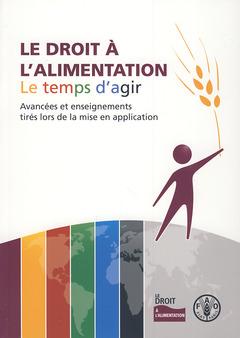 Couverture de l'ouvrage Le droit à l'alimentation