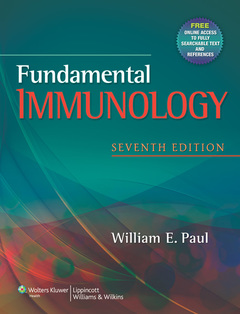 Couverture de l'ouvrage Fundamental immunology (7th Ed.)
