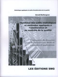 Couverture de l'ouvrage Synthèse des outils et méthodes appliquées à l'amélioration et au contrôle de la qualité