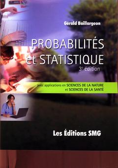 Couverture de l'ouvrage Probabilités et statistiques (3e éd. avec CD-ROM)