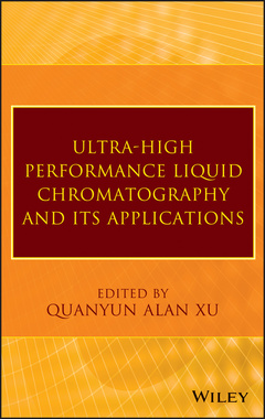 Couverture de l'ouvrage Ultra-High Performance Liquid Chromatography and Its Applications