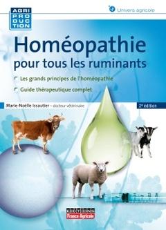 Couverture de l'ouvrage Homéopathie pour tous les ruminants