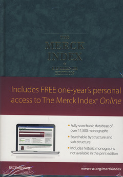 Cover of the book The Merck index