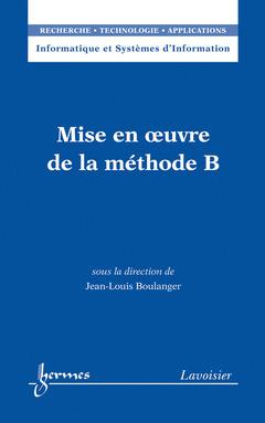 Couverture de l'ouvrage Mise en oeuvre de la méthode B