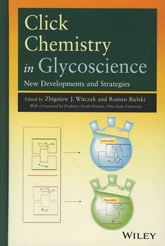 Couverture de l'ouvrage Click Chemistry in Glycoscience