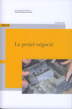 Couverture de l'ouvrage Le projet négocié
