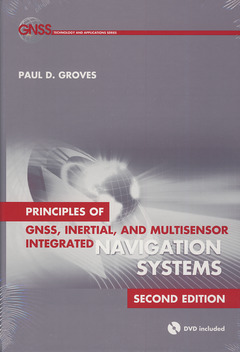 Couverture de l'ouvrage Principles of GNSS, Inertial, and Multisensor Integrated Navigation Systems