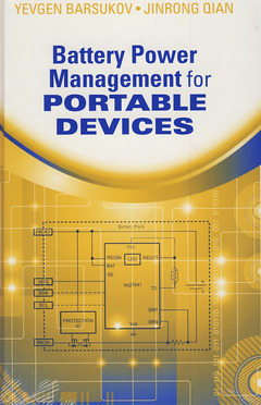 Couverture de l'ouvrage Battery Power Management for Portable Devices