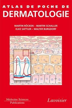 Couverture de l'ouvrage Atlas de poche de dermatologie