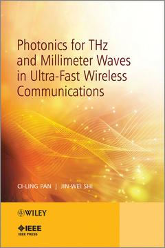 Cover of the book Photonics for THz and Millimeter Waves in Ultra-Fast Wireless Communications