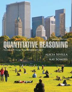 Cover of the book Quantitative Reasoning
