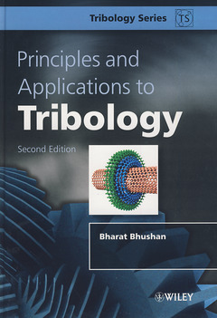 Couverture de l'ouvrage Principles and Applications to Tribology