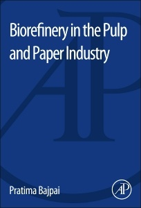Cover of the book Biorefinery in the Pulp and Paper Industry