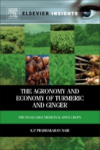 Couverture de l'ouvrage The Agronomy and Economy of Turmeric and Ginger