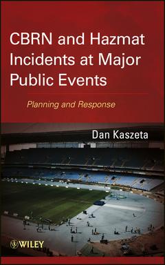 Couverture de l'ouvrage CBRN and Hazmat Incidents at Major Public Events