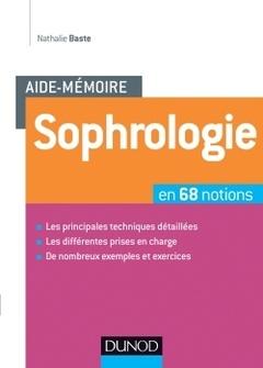 Couverture de l'ouvrage L'Aide-mémoire de sophrologie
