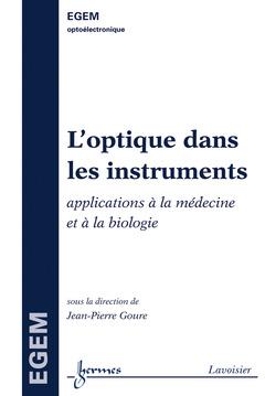 Couverture de l'ouvrage L'optique dans les instruments