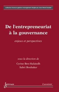 Couverture de l'ouvrage De l'entrepreneuriat à la gouvernance