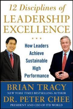 Couverture de l'ouvrage 12 Disciplines of leadership excellence