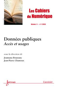 Couverture de l'ouvrage Données publiques