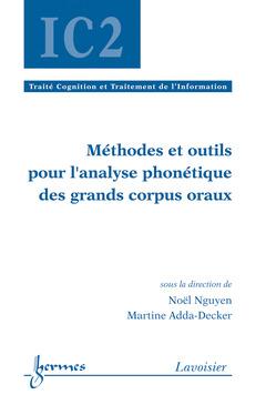 Couverture de l'ouvrage Méthodes et outils pour l'analyse phonétique des grands corpus oraux
