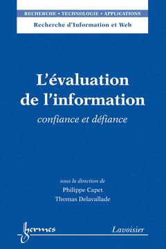 Couverture de l'ouvrage L'évaluation de l'information